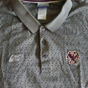 Vintage Reebok Boston College Eagles Polo Shirt